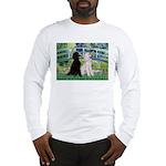 Bridge / Std Poodle (pr) Long Sleeve T-Shirt