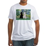 Bridge / Std Poodle (pr) Fitted T-Shirt