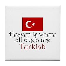 Turkish Chefs Tile Coaster