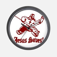 Jeses Saves Goal Wall Clock