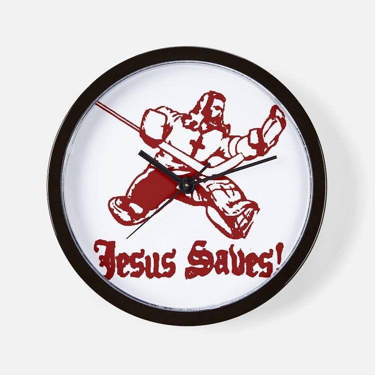Jeses Saves Goal Wall Clock