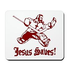 Jeses Saves Goal Mousepad