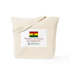 Bolivian Chefs Tote Bag