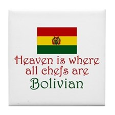 Bolivian Chefs Tile Coaster