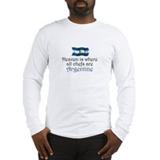 Argentine Chefs Long Sleeve T-Shirt