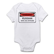 Russian With An Attitude Infant Bodysuit