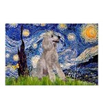 Starry / Std Poodle (s) Postcards (Package of 8)