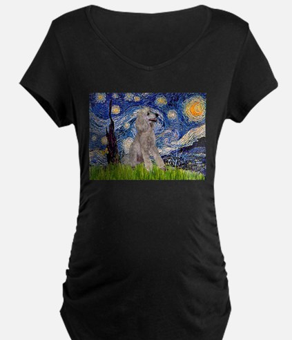 Starry / Std Poodle (s) T-Shirt