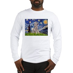 Starry / Std Poodle (s) Long Sleeve T-Shirt