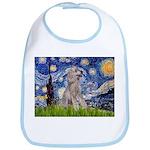 Starry / Std Poodle (s) Bib