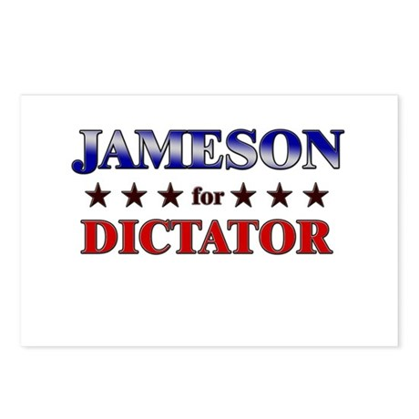 JAMESON for dictator Postcards (Package of 8)