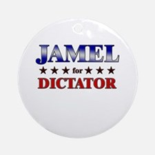 JAMEL for dictator Ornament (Round)