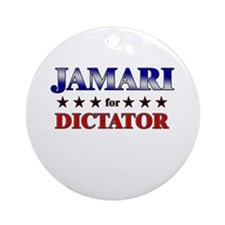 JAMARI for dictator Ornament (Round)