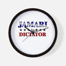JAMARI for dictator Wall Clock