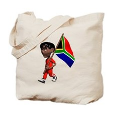 3D South Africa Tote Bag