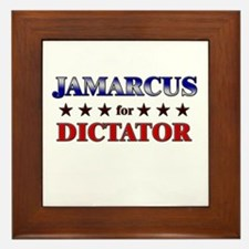 JAMARCUS for dictator Framed Tile
