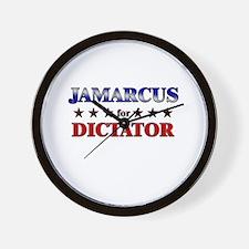 JAMARCUS for dictator Wall Clock