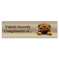Shar Pei Puppy Bumper Bumper Sticker