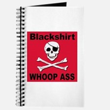 Nebraska Blackshirt Whoop Ass Journal