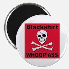 """Nebraska Blackshirt Whoop Ass 2.25"""" Magnet (10 pac"""