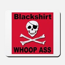 Nebraska Blackshirt Whoop Ass Mousepad