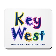 Key West Tropical Type -  Mousepad