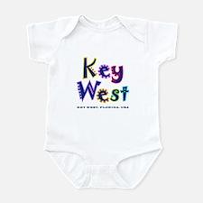 Key West Tropical Type -  Infant Bodysuit