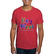 Key West Tropical Type - T-Shirt