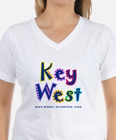 Key West Tropical Type - Shirt