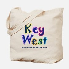 Key West Tropical Type - Tote Bag