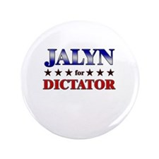 "JALYN for dictator 3.5"" Button"