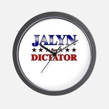 JALYN for dictator Wall Clock