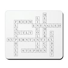 Colbert Crossoword Mousepad