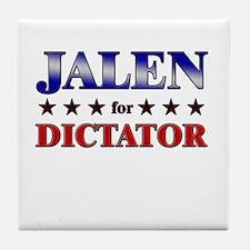 JALEN for dictator Tile Coaster