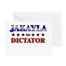 JAKAYLA for dictator Greeting Card