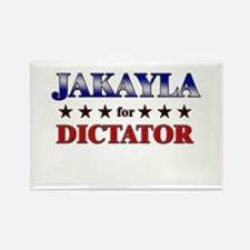 JAKAYLA for dictator Rectangle Magnet