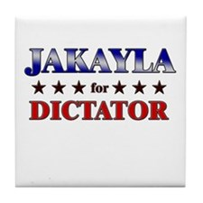 JAKAYLA for dictator Tile Coaster