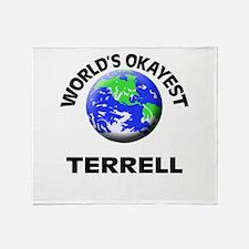 World's Okayest Terrell Throw Blanket