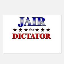 JAIR for dictator Postcards (Package of 8)