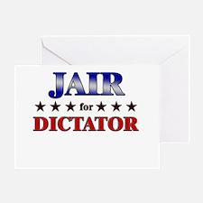 JAIR for dictator Greeting Card