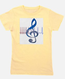 Cute Music therapy Girl's Tee