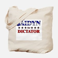 JAIDYN for dictator Tote Bag