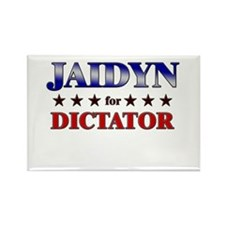 JAIDYN for dictator Rectangle Magnet