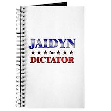 JAIDYN for dictator Journal