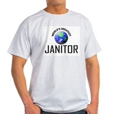 World's Greatest JANITOR T-Shirt