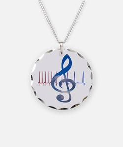 Cute Music therapy Necklace