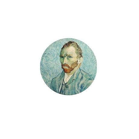 Vincent van Gogh Self-Portrait Mini Button