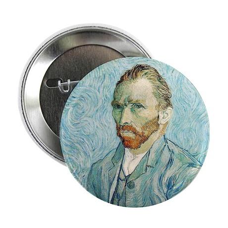 """Vincent van Gogh Self-Portrait 2.25"""" Button"""