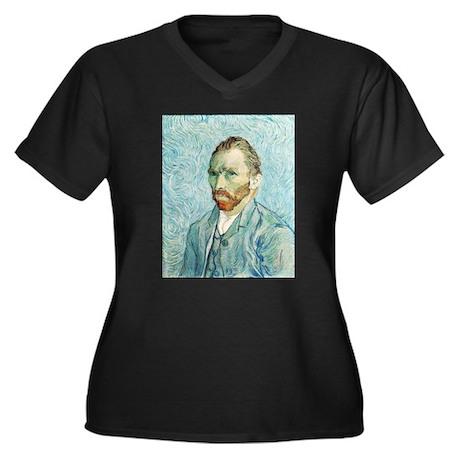 Vincent van Gogh Self-Portrait Women's Plus Size V