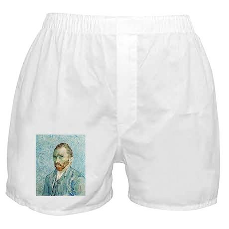 Vincent van Gogh Self-Portrait Boxer Shorts